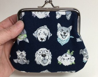 Kisslock Coin Purse - fido friends