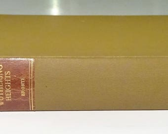 1906 WUTHERING HEIGHTS by Emily Bronte with Our Village by Mary Russell Mitford, Illustrated
