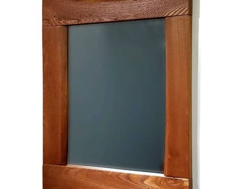 Live Edge Mirror - Reclaimed Wood Mirror - Bathroom Mirror - Rustic Mirror - Wall Mirror - Wood Mirror - Lodge Decor - Natural Edge Mirror