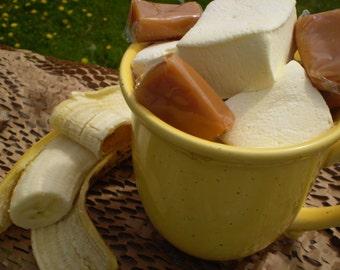 Banana Caramel marshmallows 18 gourmet handcrafted