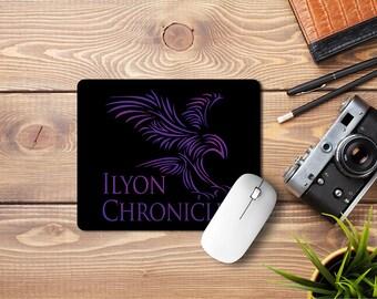 Ilyon Chronicles Purple Hawk Mousepad
