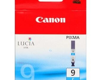 Canon original cartridge. Canon PGI - 9 c Lucia Pigmented ink. CYAN. For printers PIXMA PRO9500