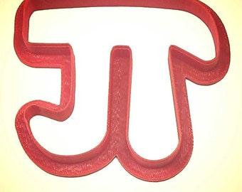 "Pi cookie cutter 3"" Mathematical cookie cutter, math cookie cutter, celebrate pi day March 14 or 3.14"