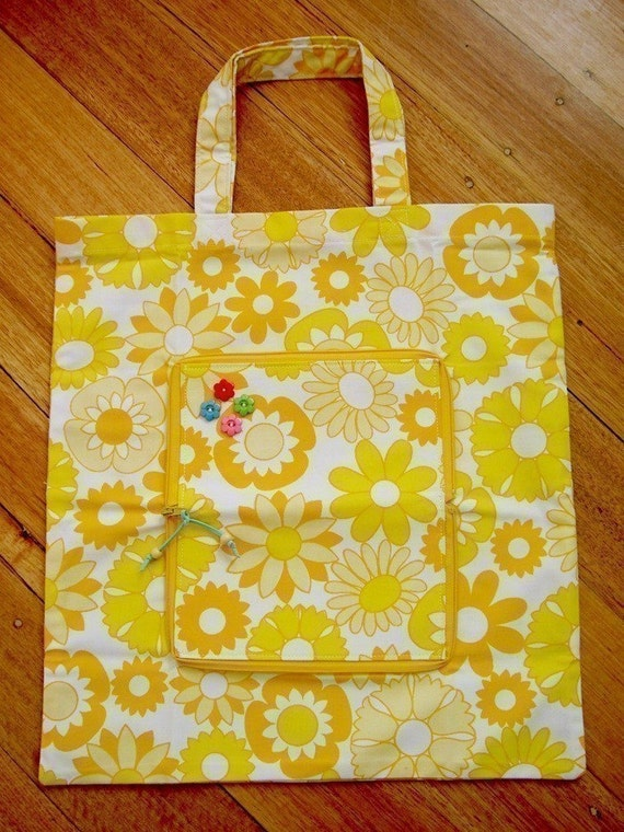 how to make a fold up shopping bag