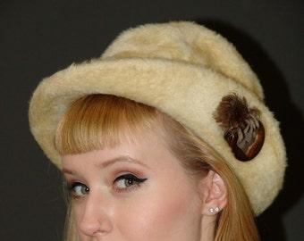 Vintage 1940s Alpine hat (Union Label)