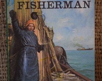 The Fisherman. A Vintage Ladybird Book. Series 606B. People at Work. 1971