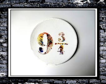Splatters In Platform 9 3/4 - Patch (Inspired by Harry Potter)