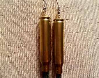 Bullet Casing Earrings (.223)