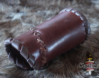 Floki leather brace