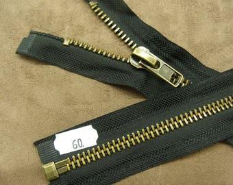 Closure detachable 60 cm - black & gold
