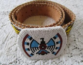 Vintage Beaded Belt - Price Reduced