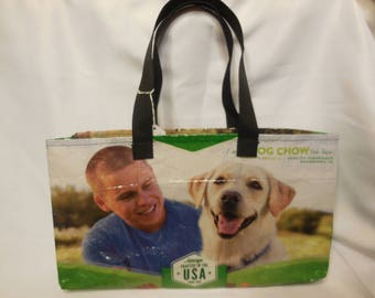 Recycled Feed Bag Tote