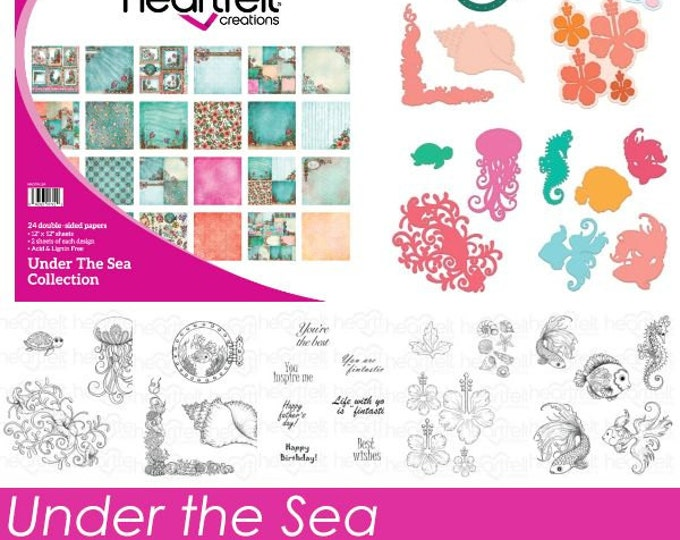 Featured listing image: Heartfelt Creations Under the Sea I Want it All Collection IWIA-174