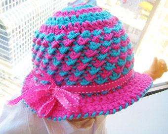 Beanie Hat Pattern, Crochet Beanie Pattern, Crochet Cloche Pattern,  Crochet Baby Hat Pattern, Toddler Hat Pattern, Diva Hat Crochet Pattern