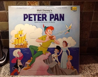 Walt Disney Vinyl record Peter Pan 3910