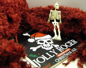 Jolly Journalist -- Jolly Roger Christmas Ale Recycled Journal