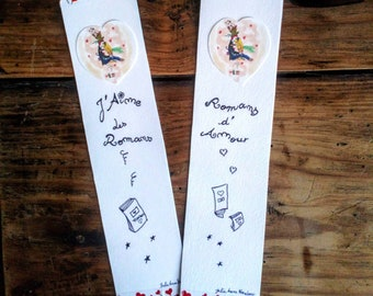 Pair of bookmark 'tick novel (s)'