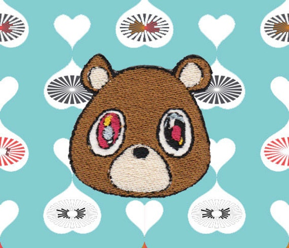 Kanye west bear patch