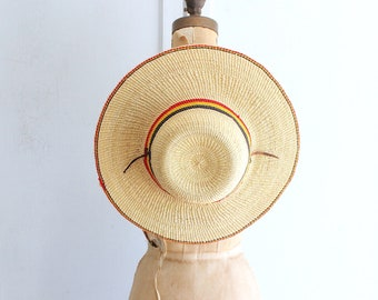 straw hat | woven sun hat | fair trade from Africa