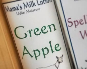 Green Apple - Luxury Body Lotion - Goat Milk Lotion - Homemade Lotion - Goats Milk Lotion - Moisturizing Lotion - Skin Care - Hand Lotion
