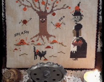 kaki Tree - PDF Cross Stitch Pattern