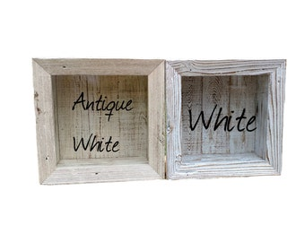 Wedding Shadow Box for Bouquet Display Rustic Cabinet Beach Cottage Chic Distressed Furniture