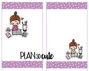 Planning time Stickers, Planner Stickers -034