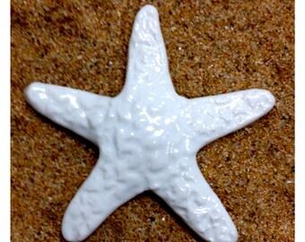 WHITE STARFISH Tile
