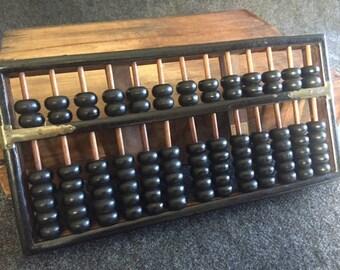 Vintage Hong Kong abacus Wang Hing