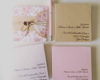 Envelope for investments-Enveloppe Card-envelope-Envoltura