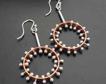 Pin-Head Earrings