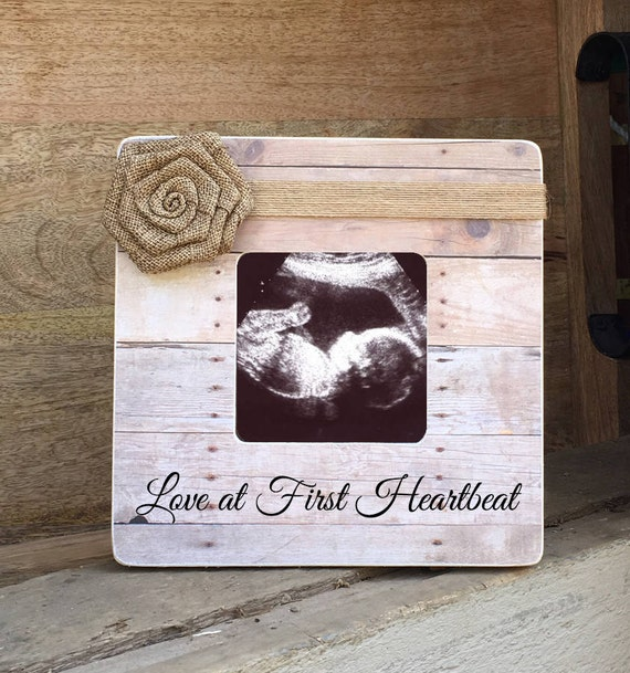ON SALE Sonogram Ultrasound Love at First Sight Frame Love at