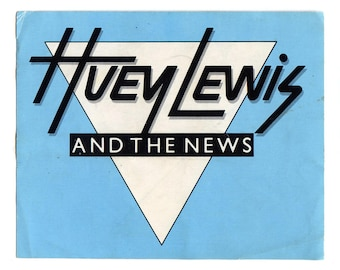 Huey Lewis and the News Sticker
