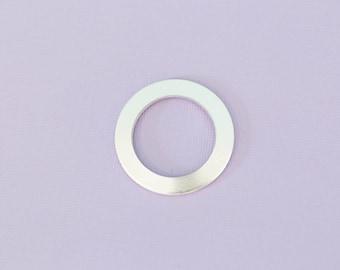 "1.25""(31.75mm) Large Washer - Aluminum Stamping Blanks - Metal Stamping Blanks - 14g - #19"