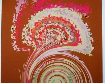 1 Fairy Swirl ACEO  digital print