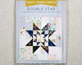 Double Star Paper Quilt Pattern