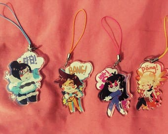 CLEARANCE Overwatch Girl Charms