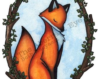 Fox & Ivy giclee art print