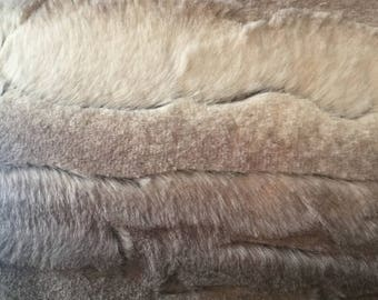 Luxe Cuddle Angora in Platinum from Shannon Fabrics