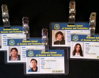 Midtown School of Science and Technology Student ID Cards Inspired by Spider-Man Homecoming
