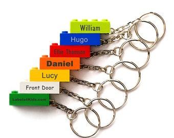 LEGO® Brick Personalised Key Rings