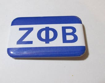 "Pins -- ""Zeta Phi Beta"" Flag Pin"