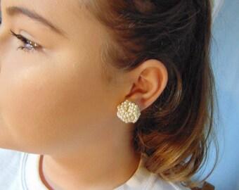 Vintage pearl earings