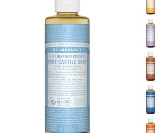 Dr. Bronner's Pure - Castile Liquid Soap, 237ml