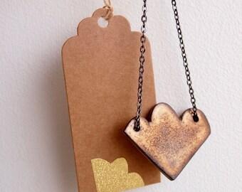 Gold cloud necklace, ceramic cloud necklace, gold cloud necklace, ceramic statement necklace, gold pendant necklace, gold ceramic necklace