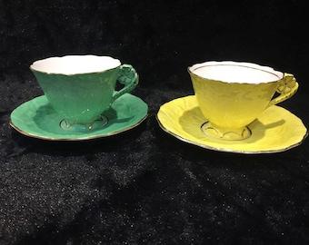 Very rare radford flower handle tea cup