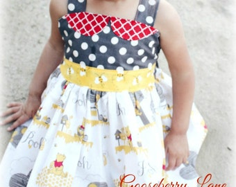Gooseberry Lane Originals Winnie the Pooh Dress