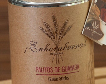 Palitos de Guayaba / Guava Sticks