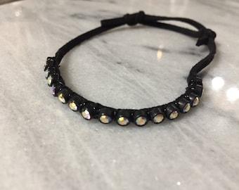 Black Bling Bracelet