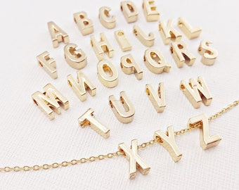 1 pc / 1 set Alphabet Bead, Alphabet Charm, silver Vacuum plating Letter Bead,Letter Charm, Initial Charm, Letter Alphabet Beads